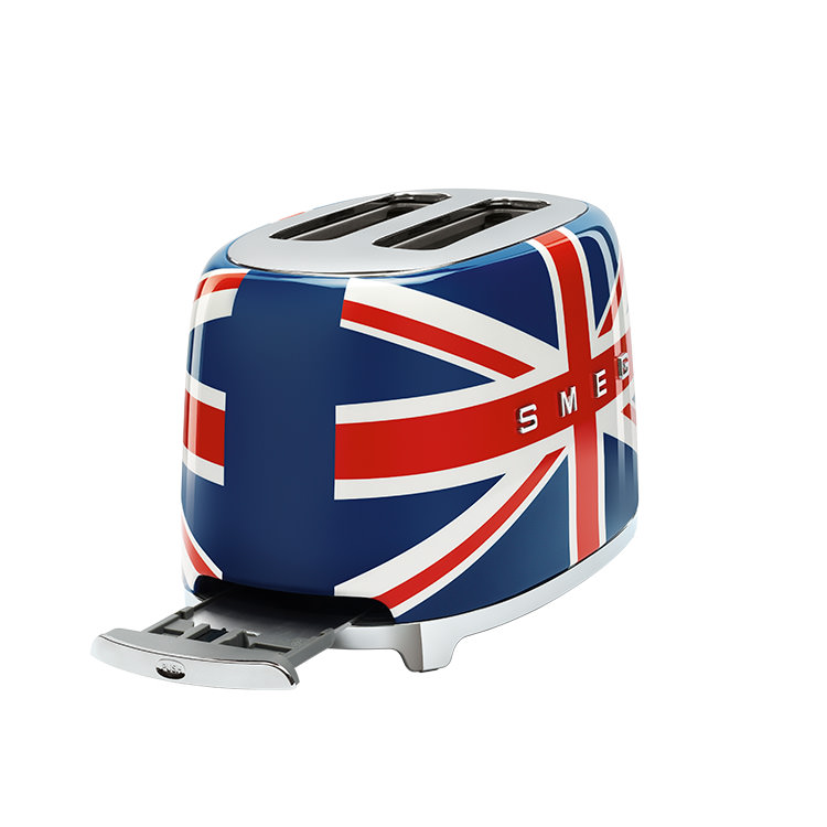 Smeg 50's Retro Style 2 Slice Toaster Union Jack