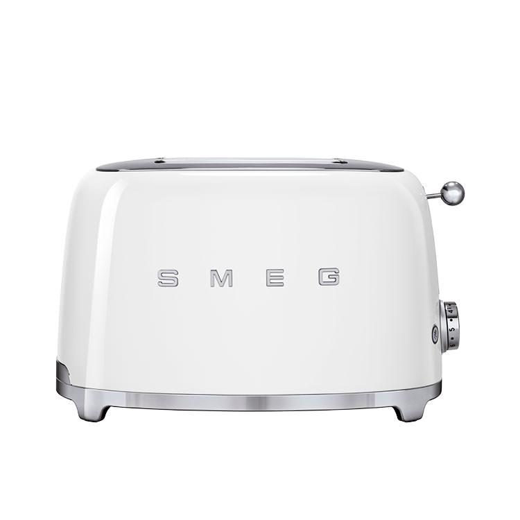 Smeg 50's Retro Style 2 Slice Toaster White