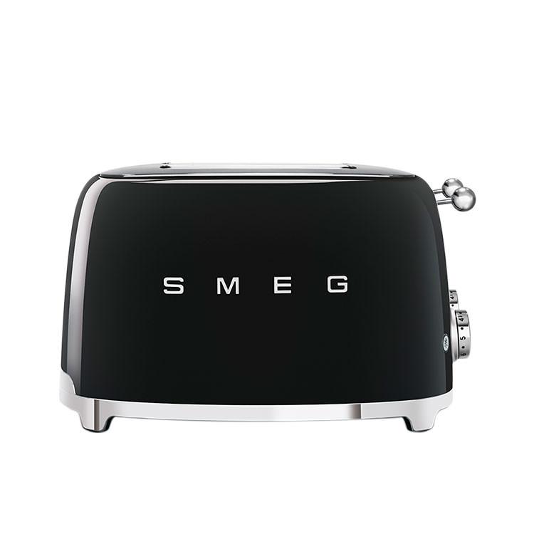 Smeg 50's Retro Style 4 Slot Toaster Black image #3