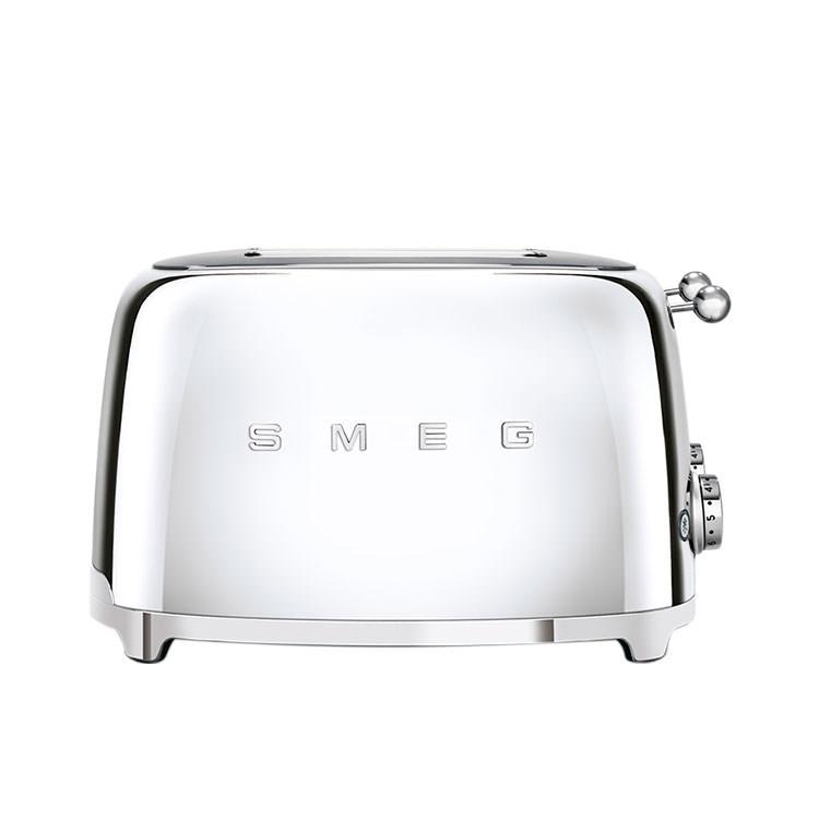 Smeg 50's Retro Style 4 Slot Toaster Chrome