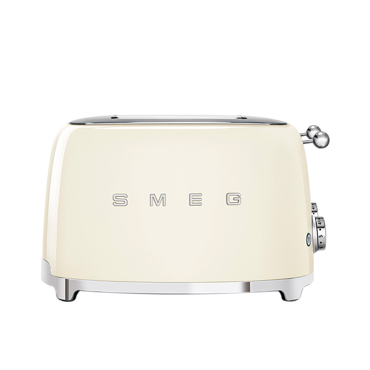Smeg 50's Retro Style 4 Slot Toaster Cream image #2