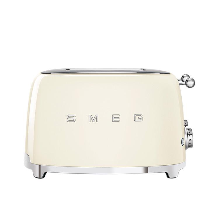 Smeg 50's Retro Style 4 Slot Toaster Cream