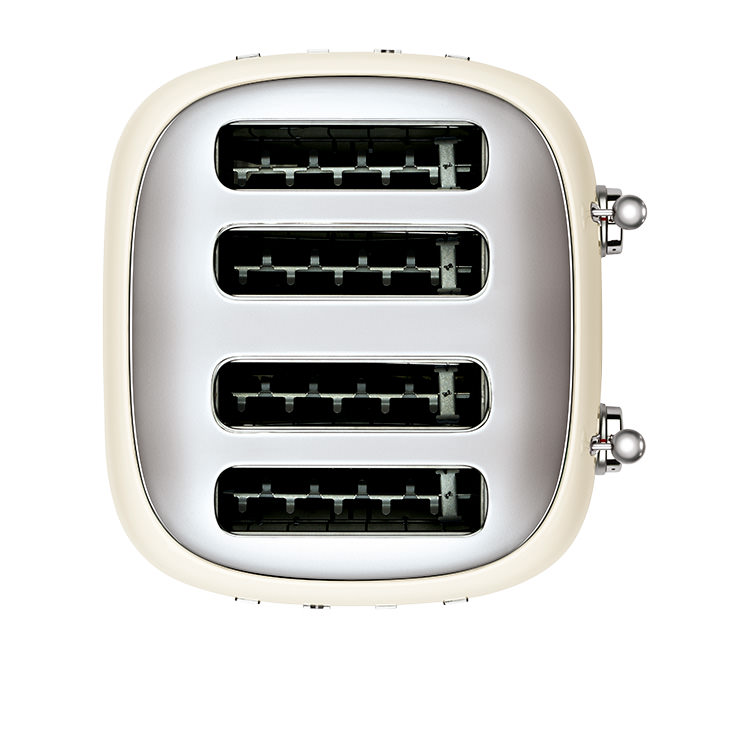 Smeg 50's Retro Style 4 Slot Toaster Cream image #3