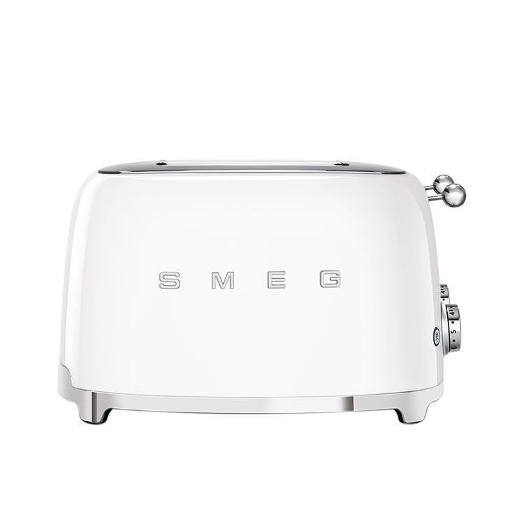 Smeg 50's Retro Style 4 Slot Toaster White