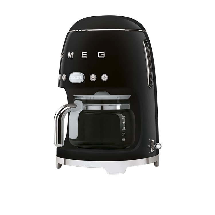 Smeg 50's Retro Style Drip Filter Coffee Machine Black