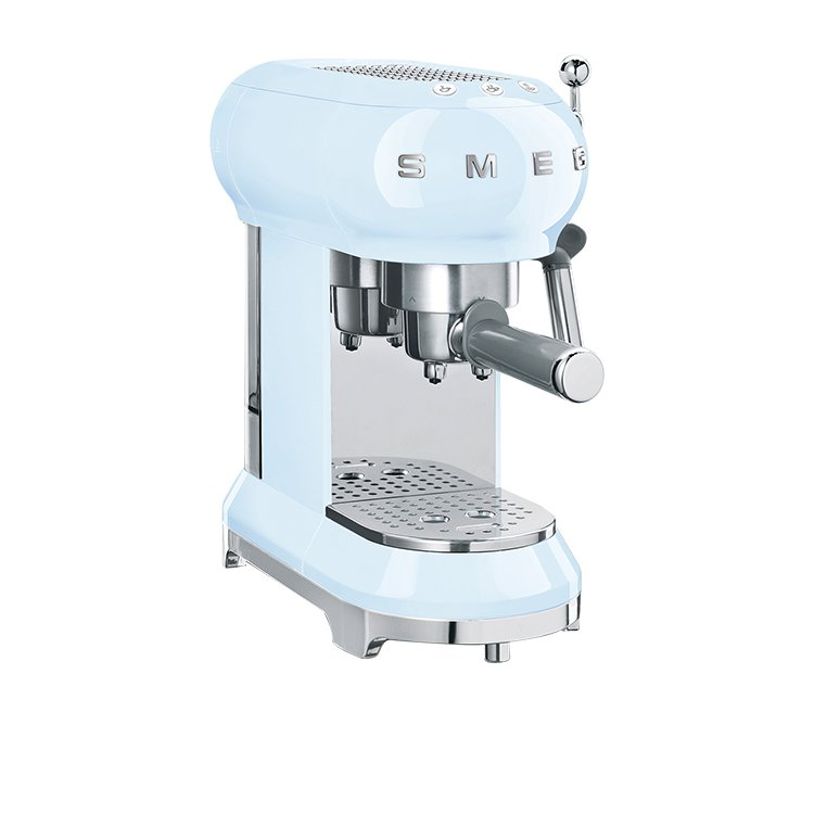 Smeg Coffee Machine Pastel Blue