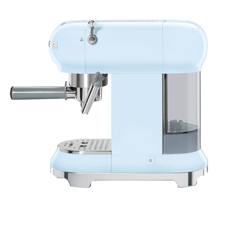 Smeg Coffee Machine Pastel Blue