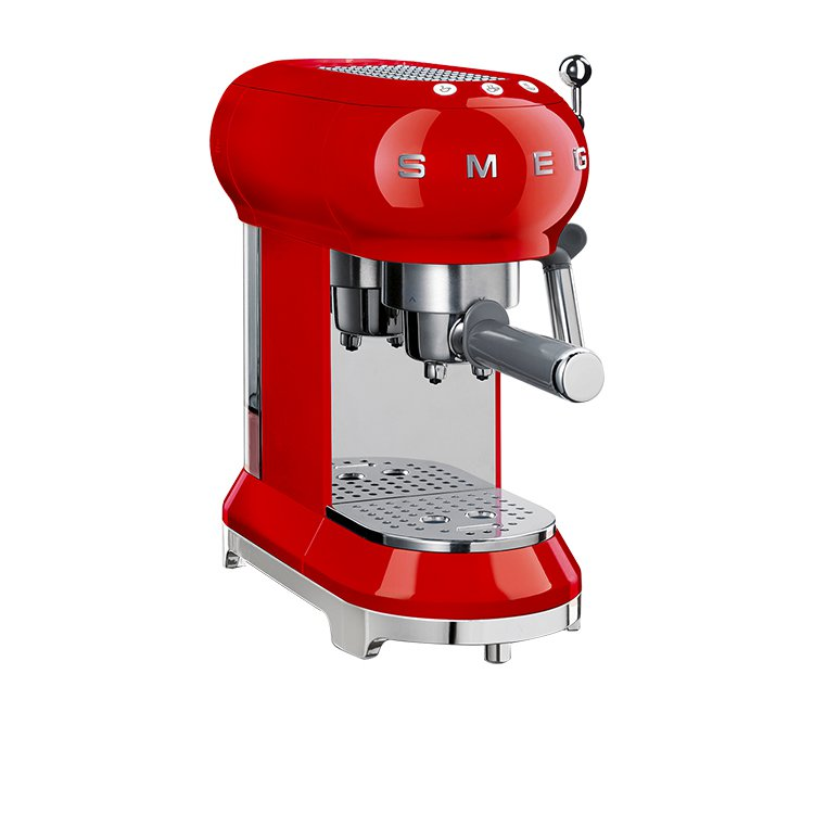 Smeg Coffee Machine Red