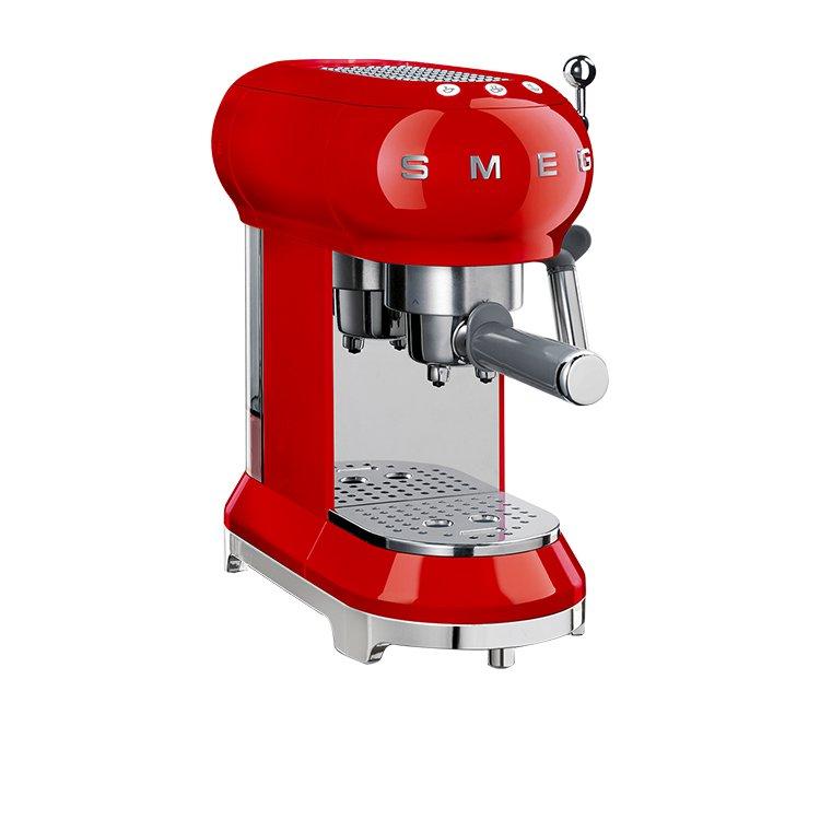 Smeg Coffee Machine Red