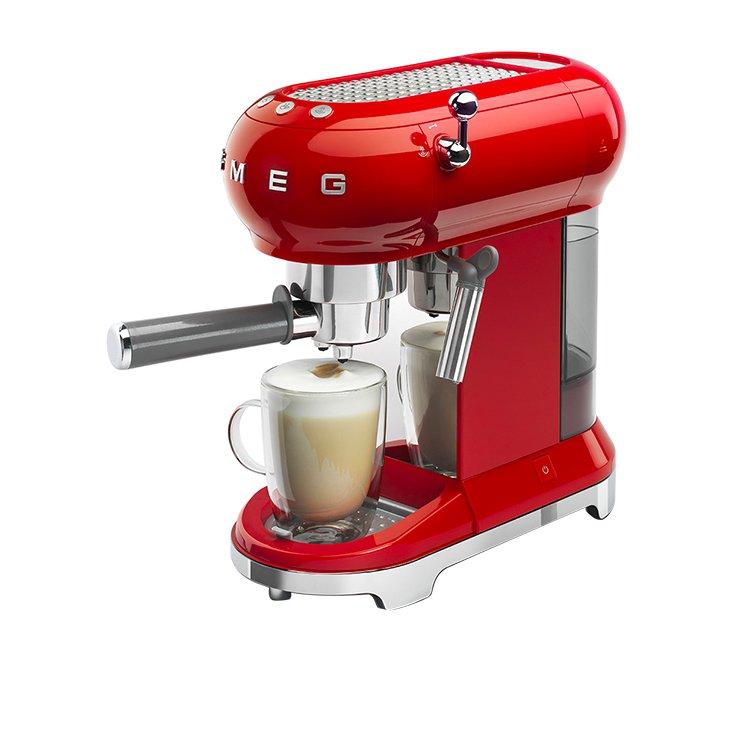 Smeg Coffee Machine Red image #2