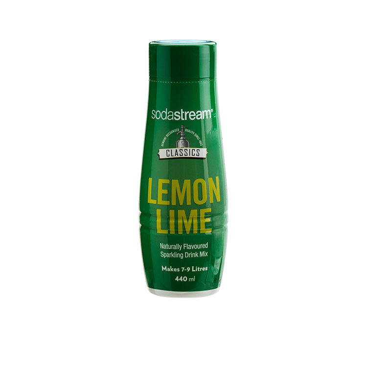 SodaStream Classic Syrup Lemon Lime Bitters 440ml
