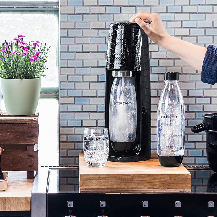 SodaStream Spirit Drink Maker Black