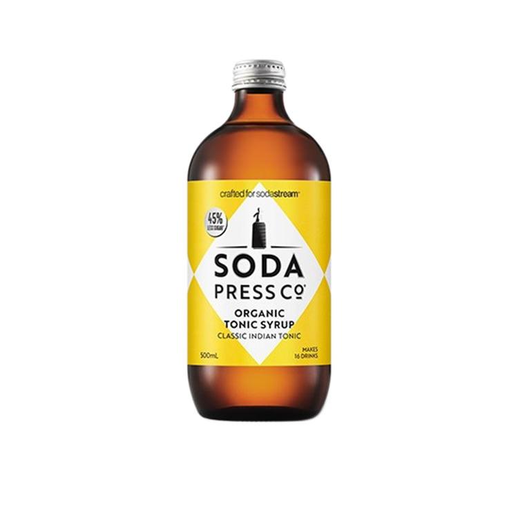 SodaStream Soda Press Co Organic Soda Syrup Indian Tonic