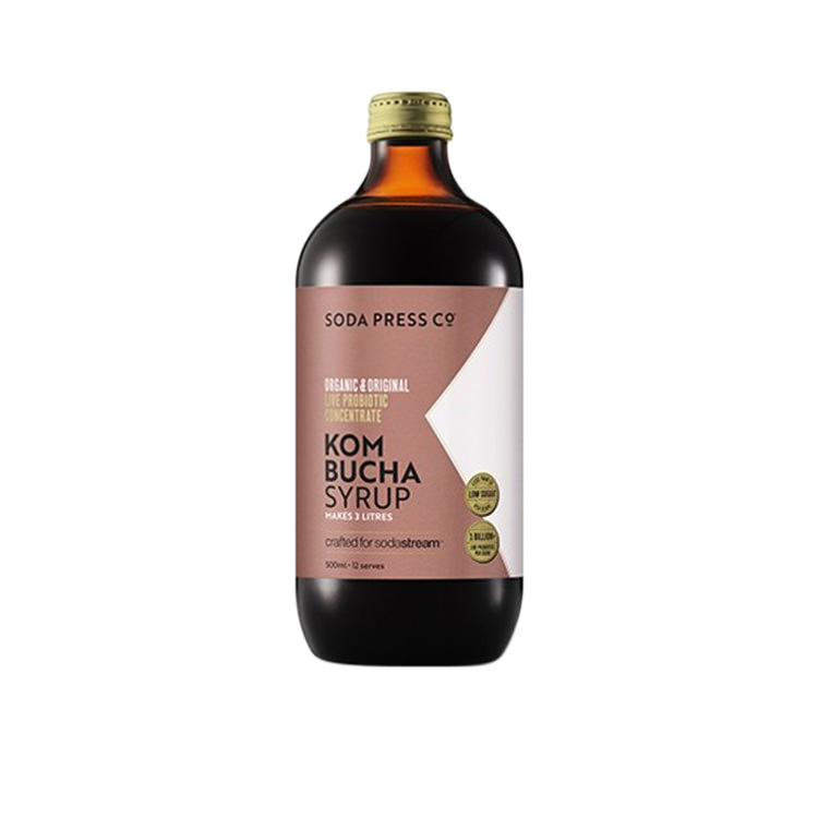 SodaStream Soda Press Co Organic Soda Syrup Kombucha