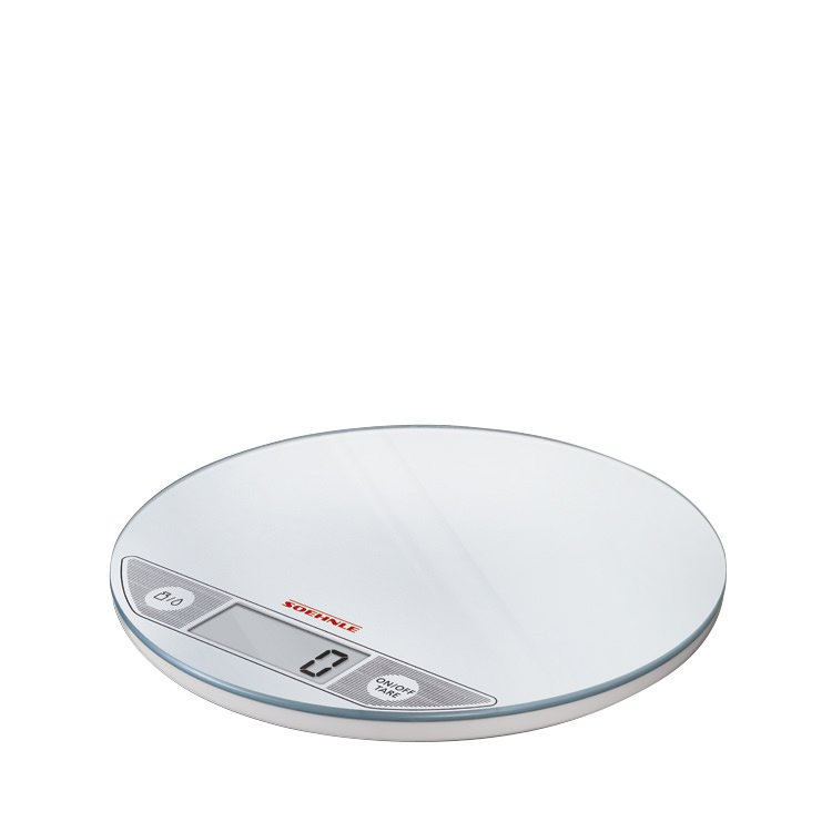 Soehnle Flip Round Digital Scale White