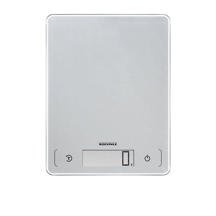 Soehnle Page Comfort 300 Slim Digital Kitchen Scale 10Kg Silver