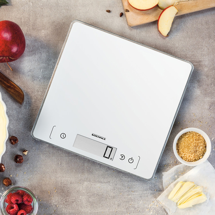 Soehnle Page Comfort 400 Digital Kitchen Scale 10kg White image #5