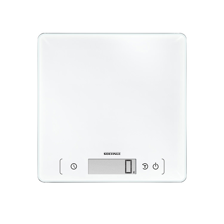 Soehnle Page Comfort 400 Digital Kitchen Scale 10kg White