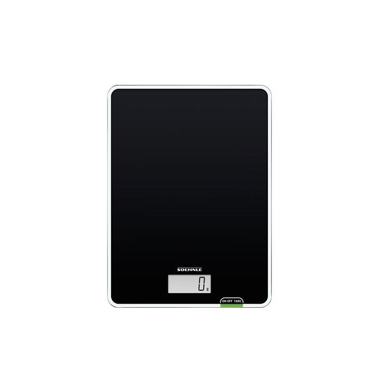 Soehnle Page Compact 100 Digital Kitchen Scale 5kg Black