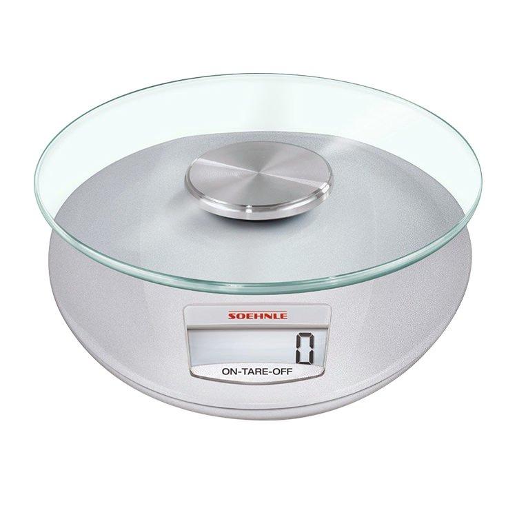 Soehnle Roma Digital Kitchen Scale 5kg Silver