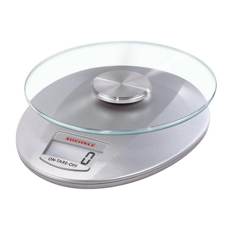 Soehnle Roma Digital Scale 5kg Silver