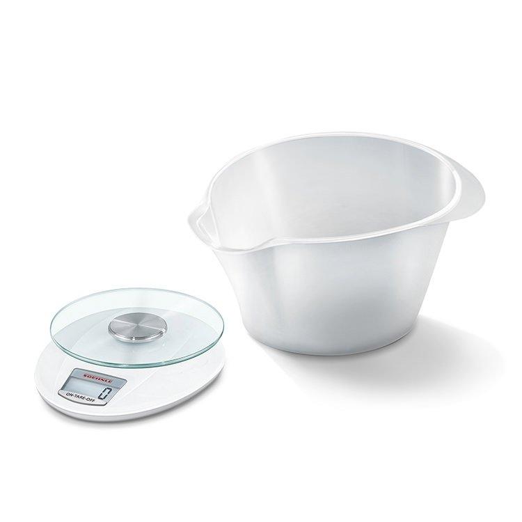 Soehnle Roma Plus Digital Kitchen Scale 5Kg White