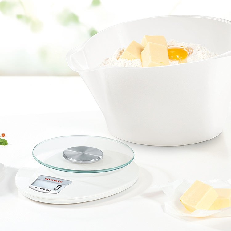 Soehnle Roma Plus Digital Kitchen Scale 5Kg White