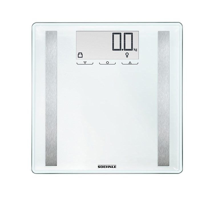 Soehnle Shape Sense Control 200 Bathroom Scale White