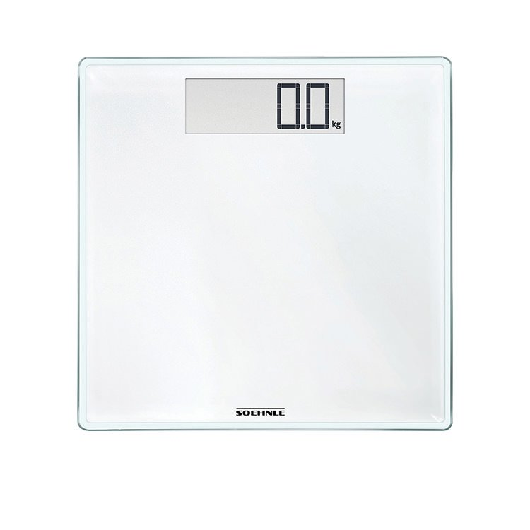 Soehnle Style Sense Comfort 100 Bathroom Scale White