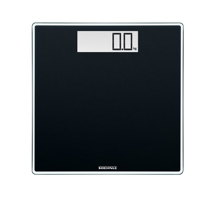 Soehnle Style Sense Comfort 400 Bathroom Scale Black