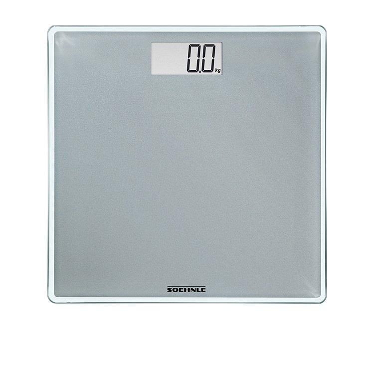 Soehnle Style Sense Compact Bathroom Scale Silver