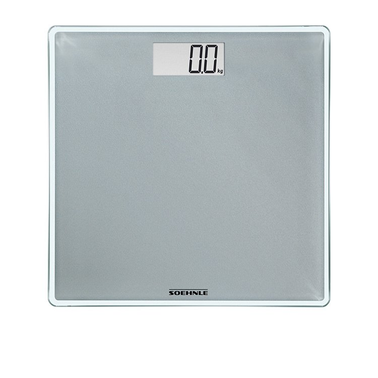 Soehnle Style Sense Compact 300 Bathroom Scale Silver