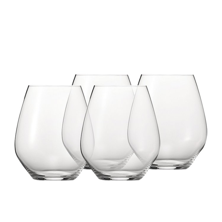 Spiegelau Authentis Casual Burgundy Wine Glass Set of 4