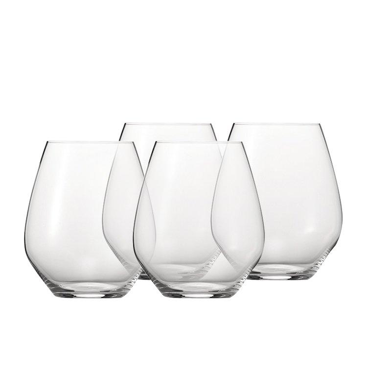 Spiegelau Authentis Casual Burgundy Wine Glass Set of 4