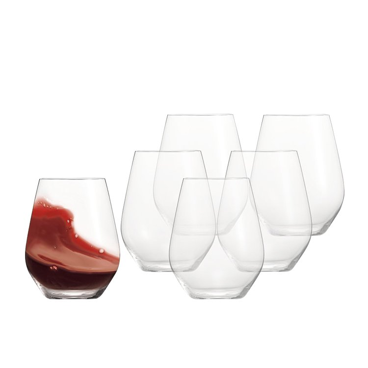 Spiegelau Authentis Casual Red Wine Gift Set of 6