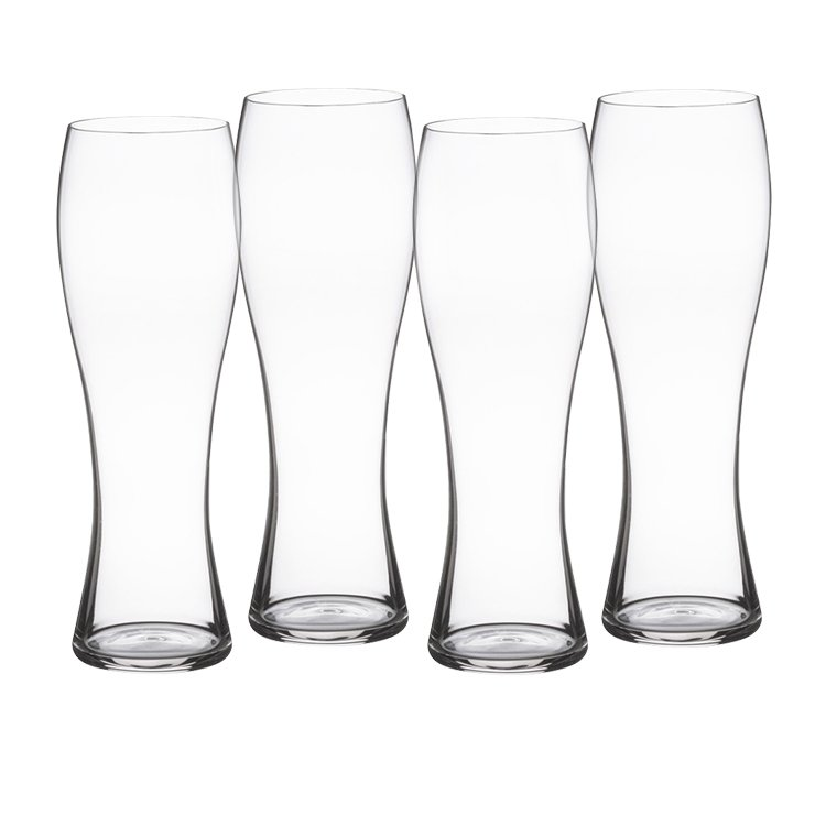 Spiegelau Beer Classics Wheat Beer Glass Set of 4