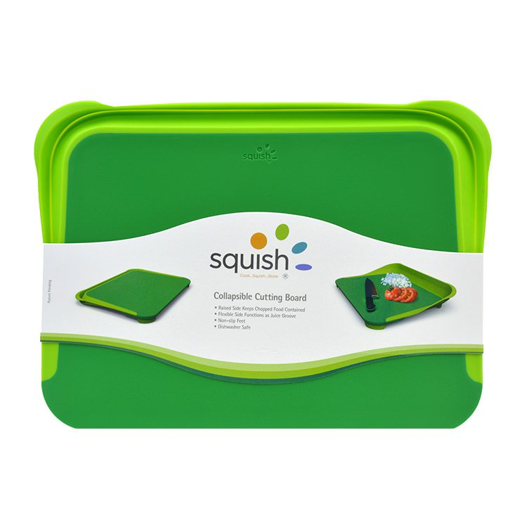 Squish Chopping Board with Collapsible Side