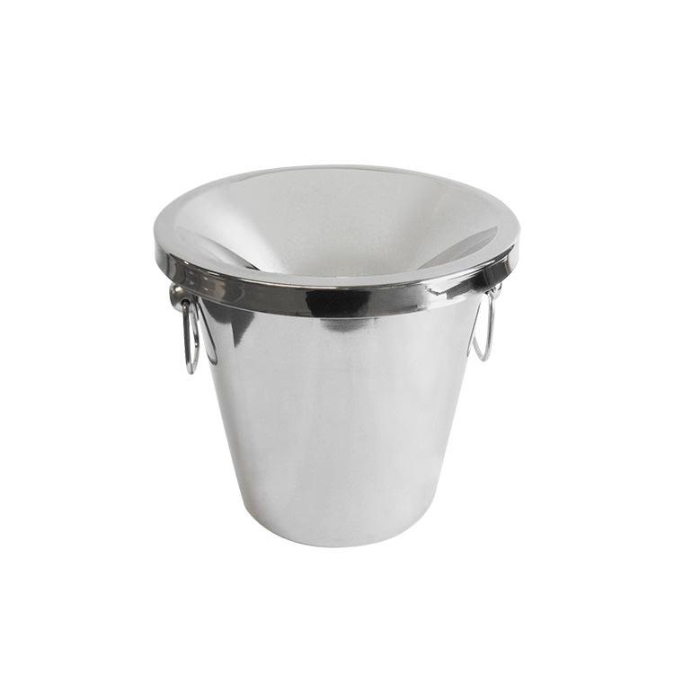 Winex Stainless Steel Spittoon Silver