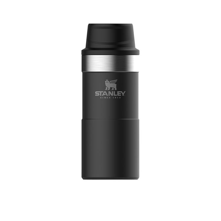 Stanley Classic Trigger Action Travel Mug 350ml Matte Black