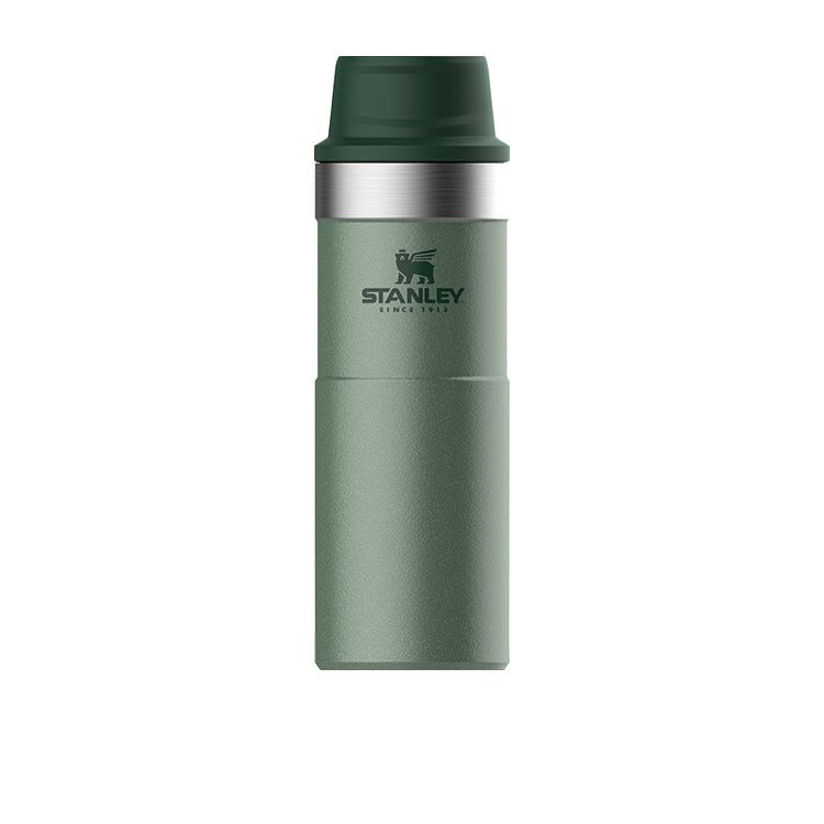 Stanley Classic Trigger Action Travel Mug 470ml Hammertone Green
