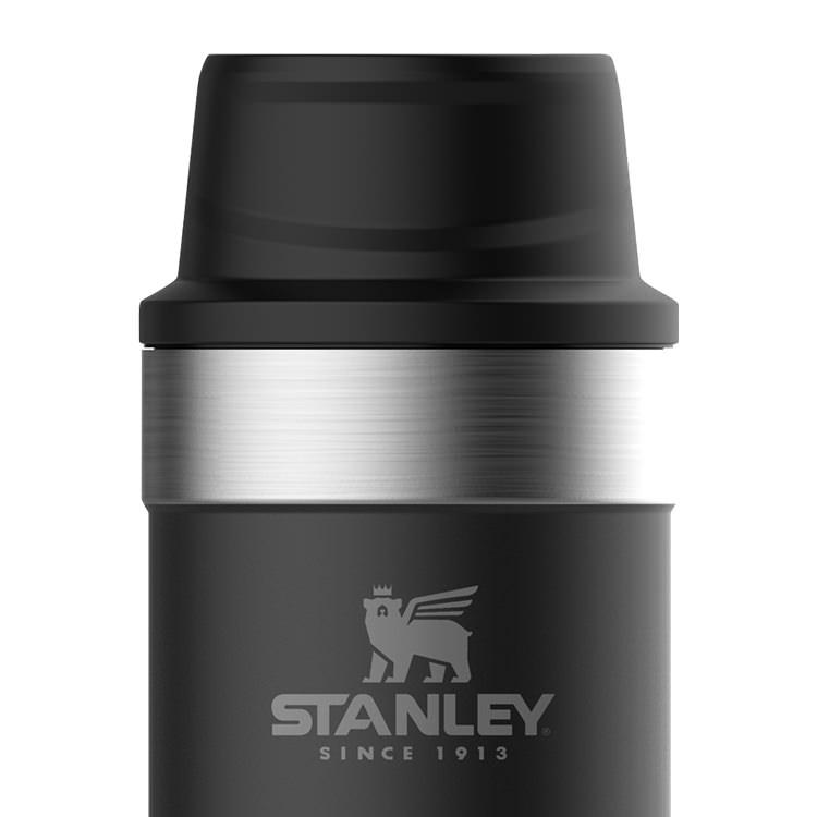 Stanley Classic Trigger Action Travel Mug 470ml Matte Black