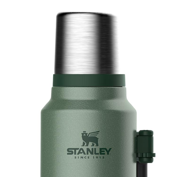 Stanley Classic Vacuum Bottle 1.4L Hammertone Green image #2