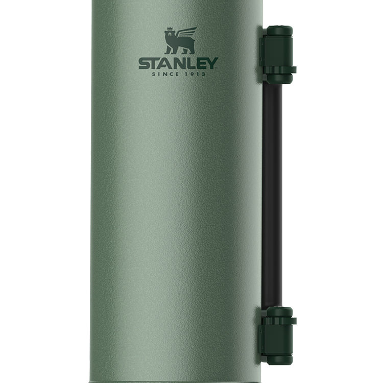Stanley Classic Vacuum Bottle 1.4L Hammertone Green image #3