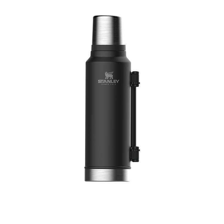 Stanley Classic Vacuum Bottle 1.4L Matte Black
