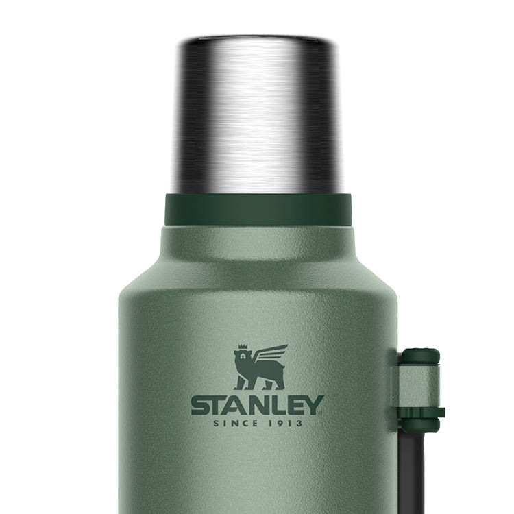 Stanley Classic Vacuum Bottle 1.9L Hammertone Green