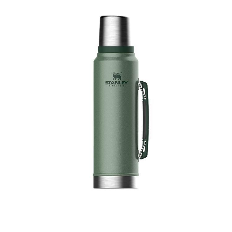 Stanley Classic Vacuum Bottle 1L Hammertone Green