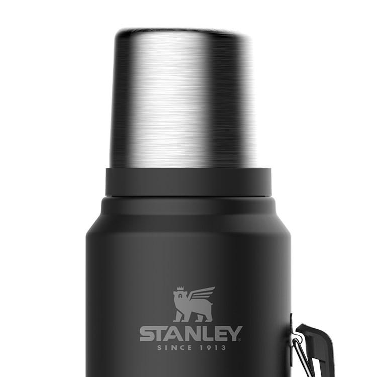 Stanley Classic Vacuum Bottle 1L Matte Black