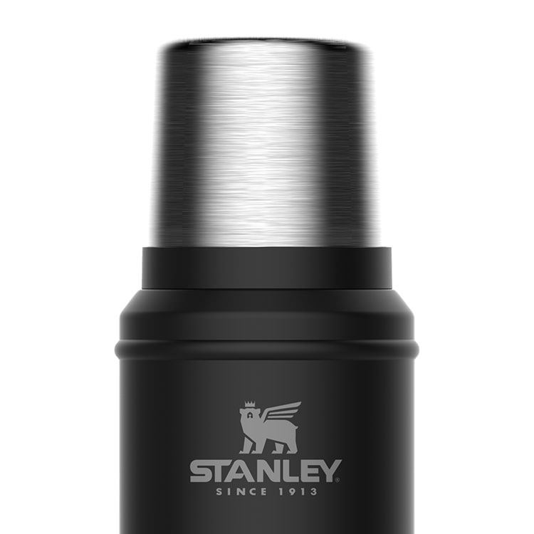 Stanley Classic Vacuum Bottle 750ml Matte Black
