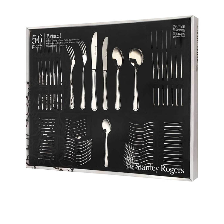 Stanley Rogers Bristol Cutlery Set 56pc