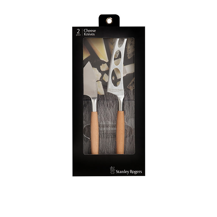 Stanley Rogers Cheese Knife Set 2pc